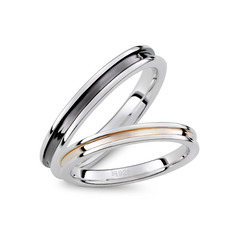 Sterling Silver Couple's Rings (289229813)