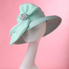 Ladies' Glamourous/Elegant/Handmade/High Quality Polyester With Rhinestone Kentucky Derby Hats/Tea Party Hats