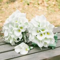 Sweet Free-Form PE Flower Sets - Boutonniere/Bridal Bouquets/Bridesmaid Bouquets