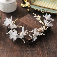 Glamourous Alloy/Imitation Pearls Headbands (Sold in single piece)