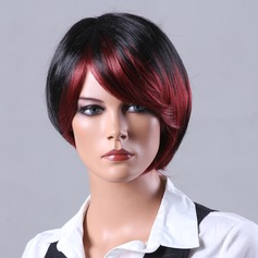Straight Synthetic Hair Capless Wigs 90g