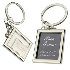 Personalized Square Zinc Alloy Keychains/Photo Frame  (118031954)