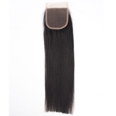 6A Straight Human Hair Closure (Sold in a single piece)
