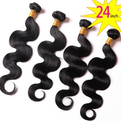 24 inch 8A Brazilian Human virgin Hair body Wave 50g/pcs