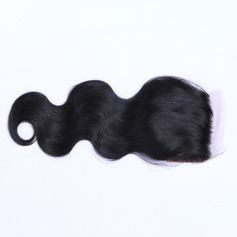 "4""*4"" 4A Non remy Body Human Hair Closure (Sold in a single piece) 100g"