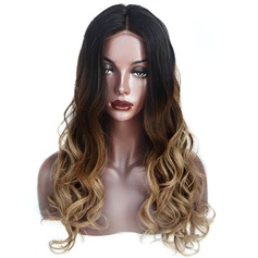 4A Non remy Body Wavy Human Hair Full Lace Cap Wigs (219142630)