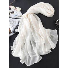 Solid Color Light Weight/Oversized Scarf (204119028)