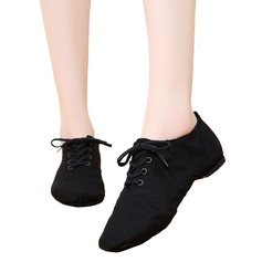 Women's Canvas Jazz Dance Shoes
