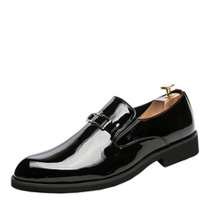 Men's Patent Leather Horsebit Loafer Casual Men's Loafers