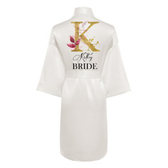 Personalized Polyester Bride Bridesmaid Mom Flower Girl Junior Bridesmaid Print Robes (248258453)