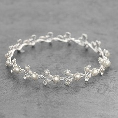 Ladies Beautiful Alloy/Platinum Plated Tiaras