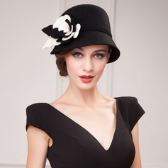 Ladies' Elegant Autumn/Winter Wool With Bowler/Cloche Hat (196075461)