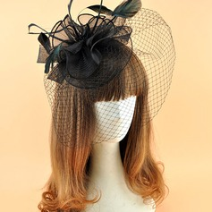 Ladies' Elegant Polyester With Feather Fascinators