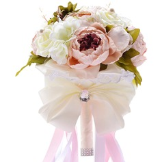 Sweet Foam/Artificial Silk Bridal Bouquets