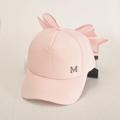 Ladies' Fashion Cotton With Bowknot Baseball Cap