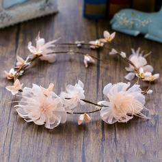 Ladies Charming Silk Flower/Simulation rattan Headbands