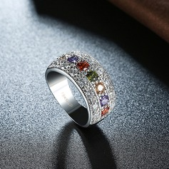 Fashional Zircon Copper Fashion Rings