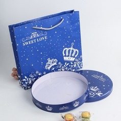 Circle Plastic/Tins/Paper Favor Tin