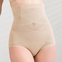 Women Classic/Casual Cotton/Chinlon Breathability High Waist Panty Shapers Shapewear (125033964)