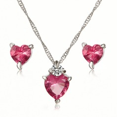 Alloy/Rhinestones With Rhinestone Ladies' Jewelry Sets