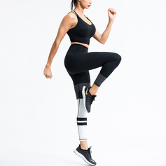 Modern / Contemporary nylon Sport-BH & Leggings
