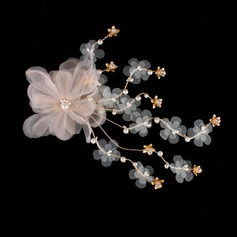 Lovely Silk Flower Hairpins (Sold in single piece)