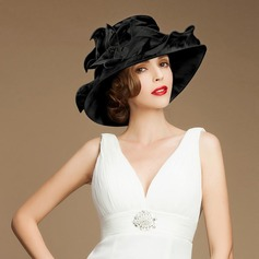 Signore Gorgeous Del organza Cappello a bombetta / Cloche/Kentucky Derby Hats/Cappelli da Tea Party