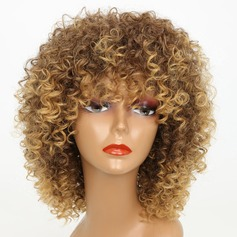 Kinky Curly Synthetic Hair Synthetic Wigs 330g