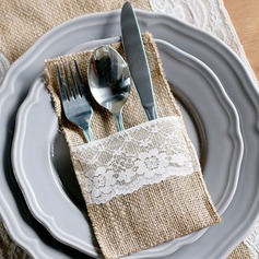 Lovely Linen Cutlery Bag