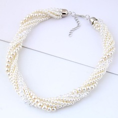 Alloy/Imitation Pearls With Imitation Pearls Ladies' Necklaces