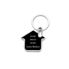 Personalized House Zinc Alloy Keychains