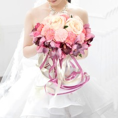 Satin Bridal Bouquets/Bridesmaid Bouquets -