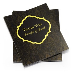 Personalized Paper Thank You Cards