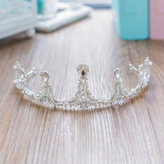 Ladies Stylish Crystal/Rhinestone/Alloy Tiaras