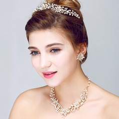 Fashional Alloy/Pearl/Rhinestones Ladies' Jewelry Sets
