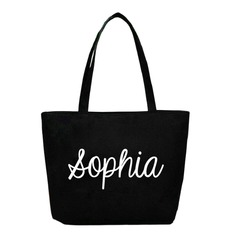 Bridesmaid Gifts - Personalized Classic Polyester Tote Bag (256176061)