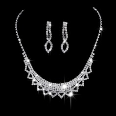 Exquisite Alloy/Copper With Rhinestone Ladies' Jewelry Sets