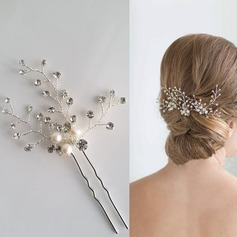 Elegant Alloy Hairpins (Set of 3)