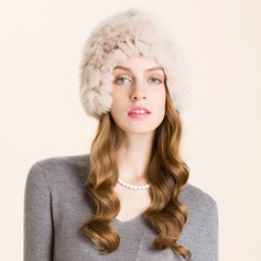 Ladies' Lovely Winter Cony Hair With Beanie/Slouchy