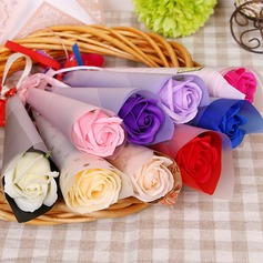 Soap Flower Flower Gifts (set of 3) -