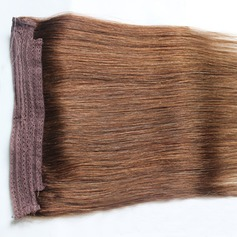 6A Virgin/remy Straight Human Hair Tape in Hair Extensions (Sold in a single piece) 100g
