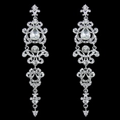 Chic Alloy/Rhinestones Ladies' Earrings