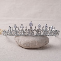 Ladies Beautiful Zircon Tiaras