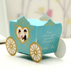 Bride & Groom/Carriage Favor Boxes