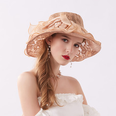 Ladies' Glamourous/Elegant/Charming Lace Beach/Sun Hats/Kentucky Derby Hats/Tea Party Hats