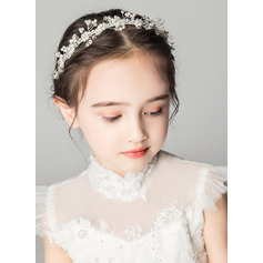 Alloy/Crystal With Flower Headbands (Sold in a single piece) (198204287)
