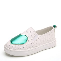 Girl's Closed Toe Loafers & Slip-Ons Leatherette Flat Heel Flats Sneakers & Athletic