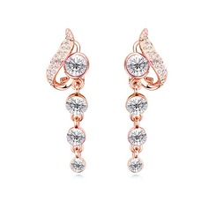 Beautiful Alloy/Crystal Earrings