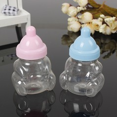 Creative/Lovely Bottle shaped Plastic Candy Jars and Bottles