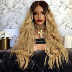 4A Non remy Body Wavy Human Hair Full Lace Wigs